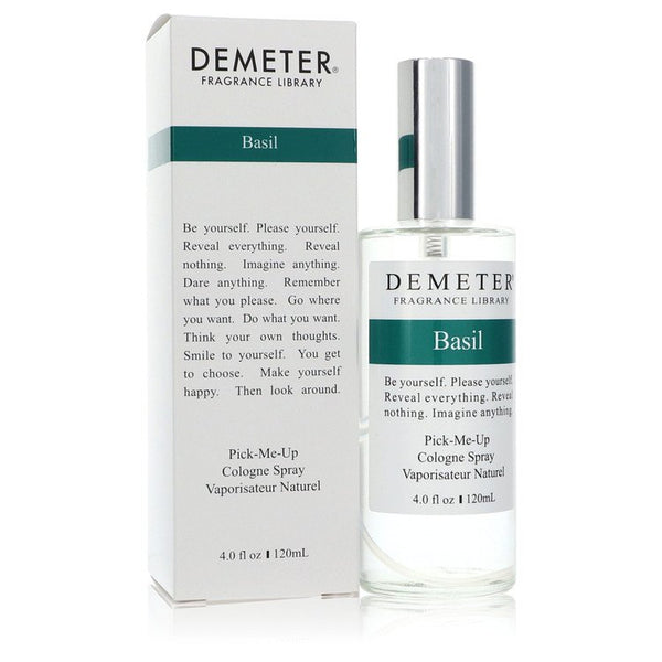Demeter Basil by Demeter Cologne Spray (Unisex) 4 oz for Men