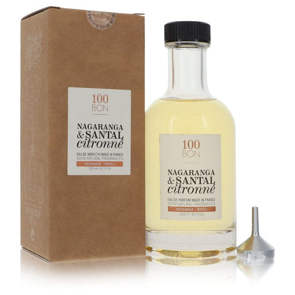 100 Bon Nagaranga & Santal Citronne by 100 Bon Eau De Parfum Refill (Unisex) 6.7 oz for Men