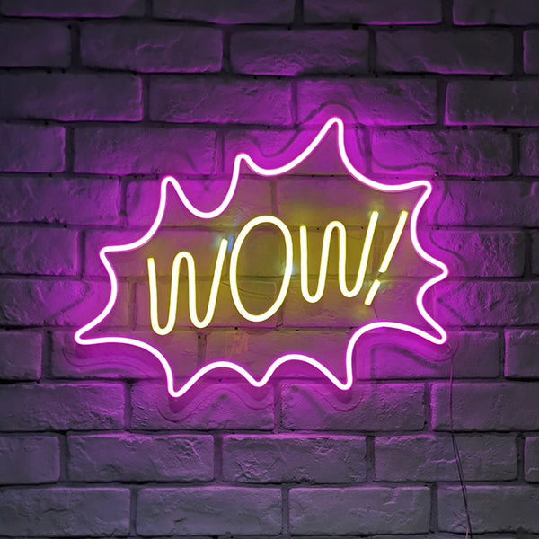 WOW Neon Light - MINIMALCOVE™