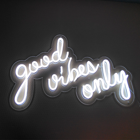 Good Vibes Only Neon Light