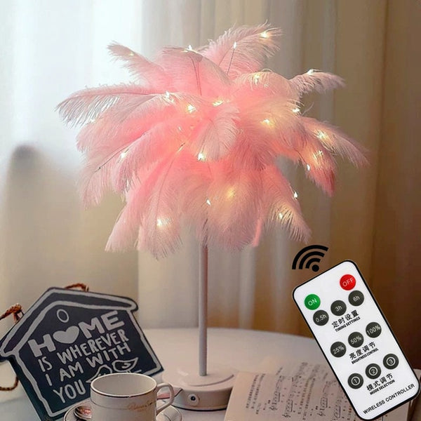 Novelty Feather Night Light - MINIMALCOVE™