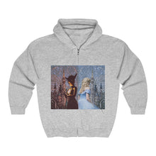 Load image into Gallery viewer, Glass and Ashes Unisex Heavy Blend™ Full Zip Hooded Sweatshirt