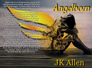 Personalized copy of Angelborn by JK Allen