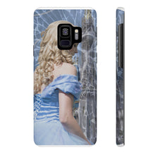 Load image into Gallery viewer, Glass and Ashed Blue Cinderella Case Mate Slim Phone Cases