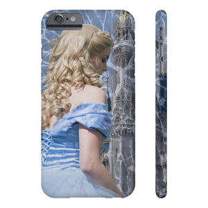 Glass and Ashed Blue Cinderella Case Mate Slim Phone Cases