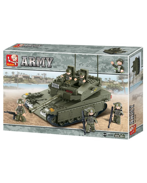 Sluban-Battle Tank-B0305