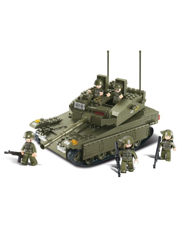 Battle tank-B0305 large sluban toy tank