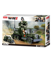 WW2 Allied Half track 2 in 1-B0685