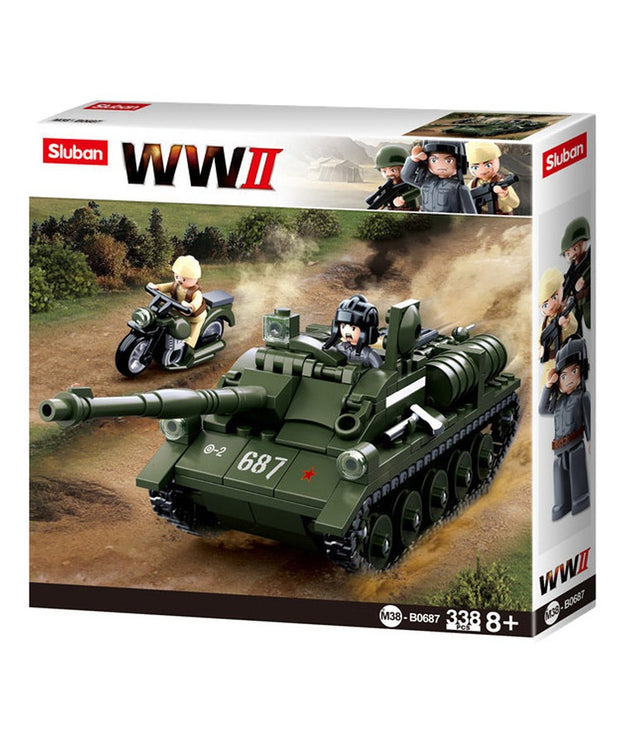 WW2 Allied tank destroyer-B0687