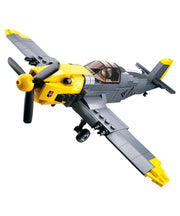 WW2 German fighter-B0692 toy german airplane sluban