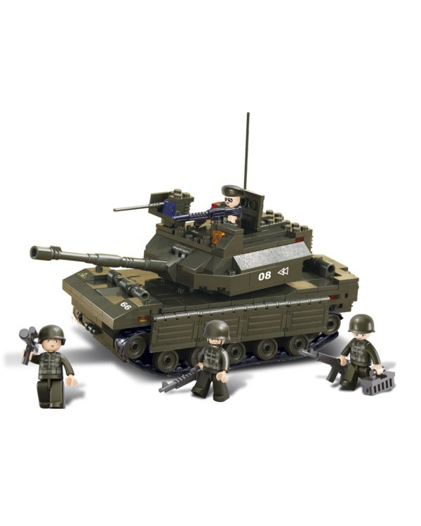 Battle tank-B6500 sluban toy battle tank