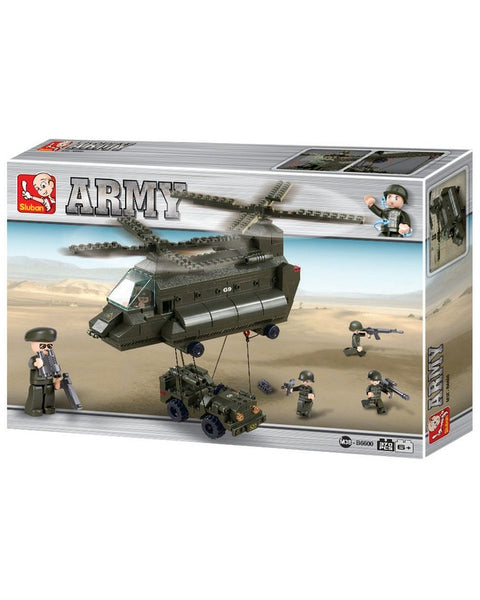 Transport helicopter-B6600  kids Kombat UK - The Back Alley Army Store