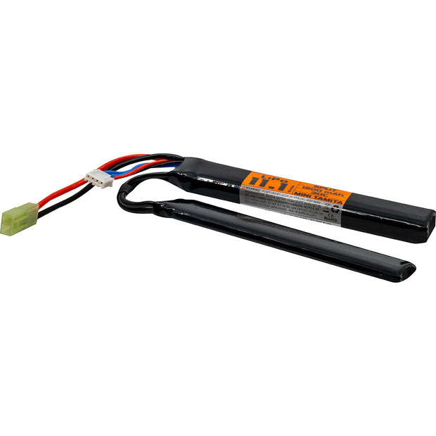 VALKEN AIRSOFT BATTERY - LIPO 11.1V 1200MAH 30C SPLIT STYLE  Airsoft Valken - The Back Alley Army Store