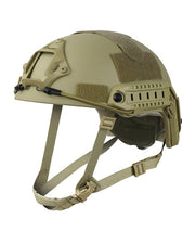 F.A.S.T Helmet replica-B.T.P Coyote Airsoft Kombat UK - The Back Alley Army Store