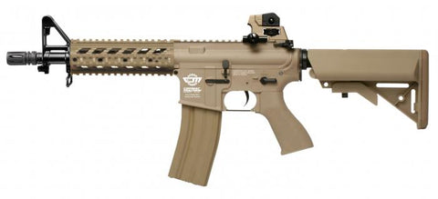 G&G CM16 Raider-fixed stock TAN Airsoft G&G - The Back Alley Army Store