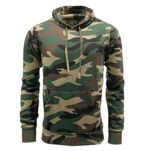 Hoodie-Woodland  Clothing Sourced by Back Alley - The Back Alley Army Store