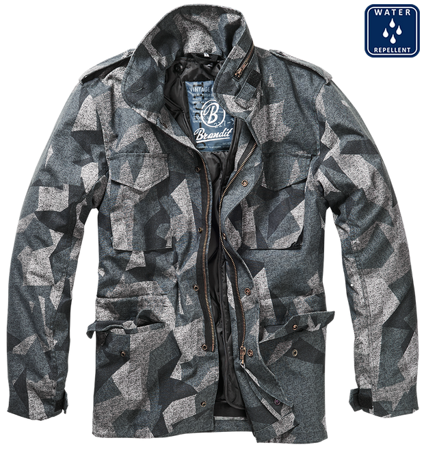 BRANDIT-M-65 Classic-Night camo. open with removable lining and 4 pockets