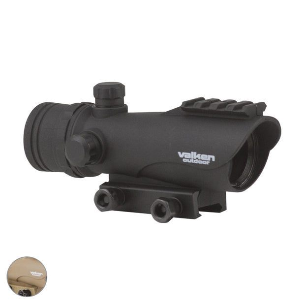 VALKEN RED DOT SIGHT RDA30 Black Airsoft Valken - The Back Alley Army Store