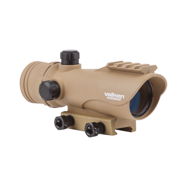 VALKEN RED DOT SIGHT RDA30 Tan Airsoft Valken - The Back Alley Army Store