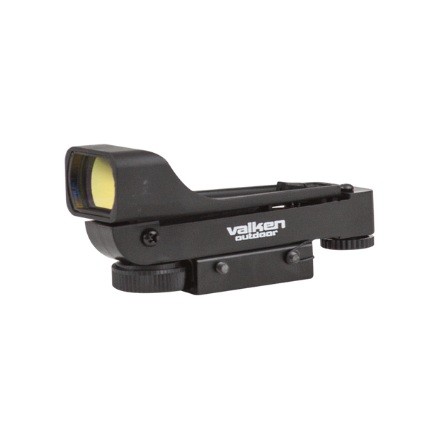 VALKEN MOLDED RED DOT SIGHT-DUAL MOUNT  Airsoft Valken - The Back Alley Army Store