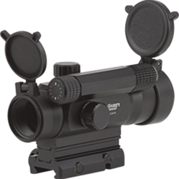VALKEN MULTI-RET TACTIAL RED DOT SIGHT 1X35MR  Airsoft Valken - The Back Alley Army Store