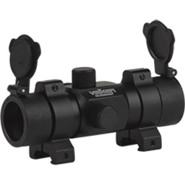 VALKEN RED DOT SIGHT 1X30ST W/WEAVER MOUNT  Airsoft Valken - The Back Alley Army Store