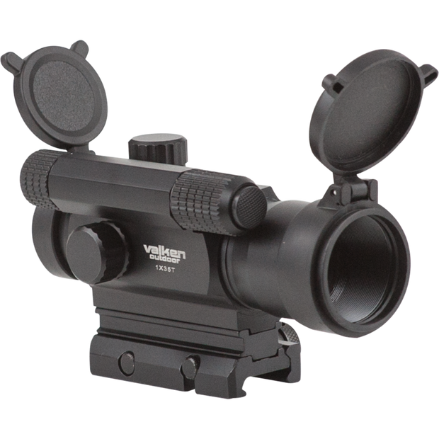 VALKEN TACTICAL RED DOT SIGHT 1X35T  Airsoft Valken - The Back Alley Army Store