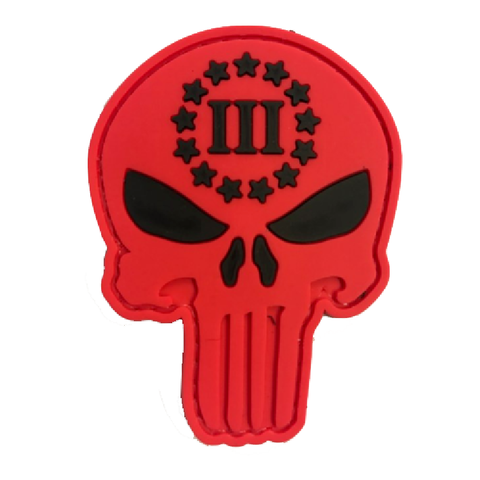 Punisher skull III-Red