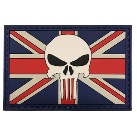 Punisher Union Jack  Airsoft Sourced by Back Alley - The Back Alley Army Store