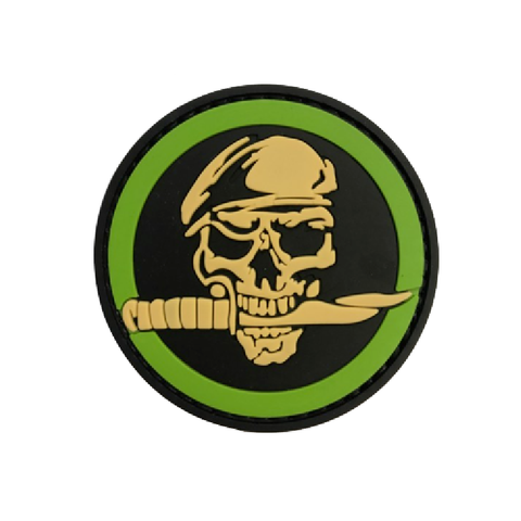 Skull knife  Airsoft Sourced by Back Alley - The Back Alley Army Store