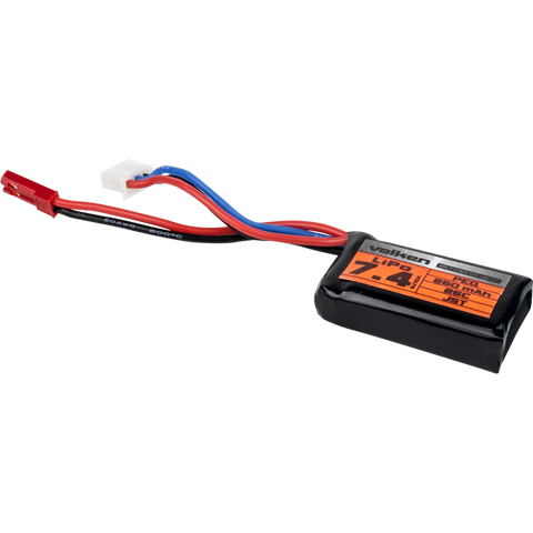 VALKEN AIRSOFT BATTERY - LIPO 7.4V 250MAH 25C PEQ STYLE  Airsoft Valken - The Back Alley Army Store