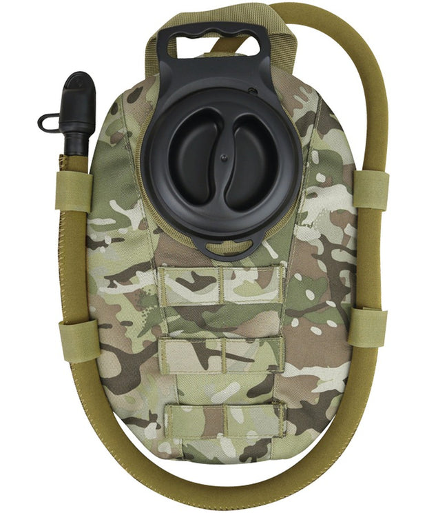aqua bladder molle btp camo hydration pack