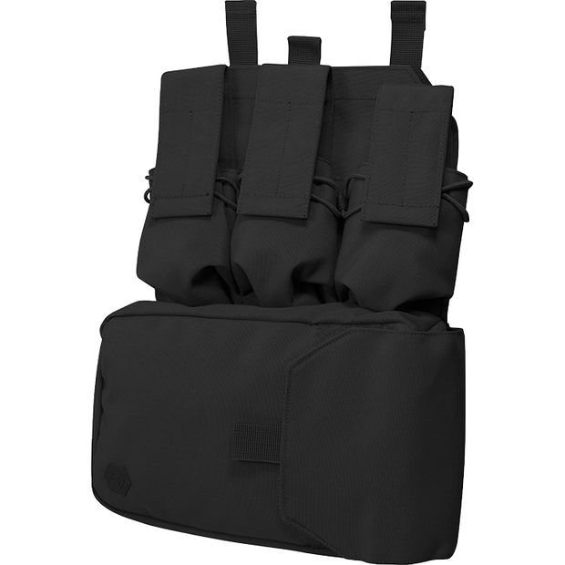 VIPER Assault panel-Black full molle chest pouch/rig
