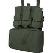 VIPER Assault panel-Olive green full molle chest pouch/rig