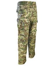 Assault Trouser ACU Style-BTP with slanted thigh pockets and button fly