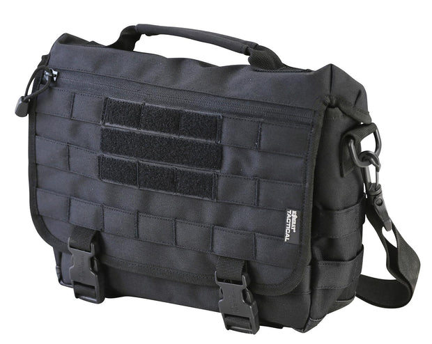 Messenger Bag 10ltr-black tactical sidebag