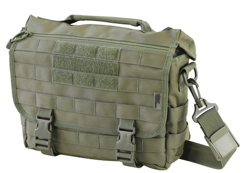Messenger Bag 10ltr-Olive OLIVE Bag Kombat UK - The Back Alley Army Store