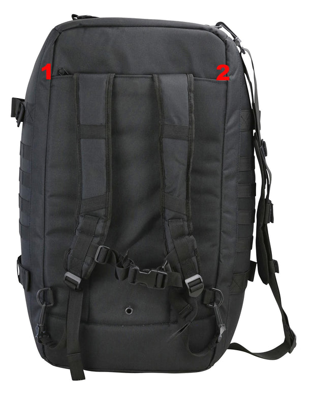Operators Duffle 60ltr<br>Black tactical backpack/bag