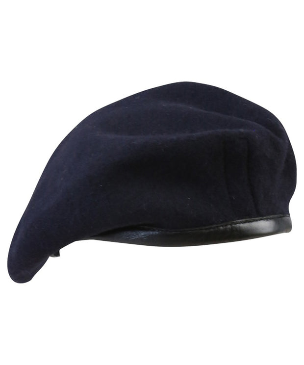 Beret-Navy blue 55 / Navy blue headwear Kombat UK - The Back Alley Army Store