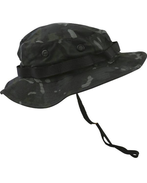 Boonie hat- BTP S / BTP Black headwear Kombat UK - The Back Alley Army Store