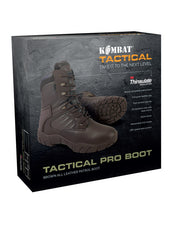 Tactical Pro Boots-MOD Brown  footwear Kombat UK - The Back Alley Army Store