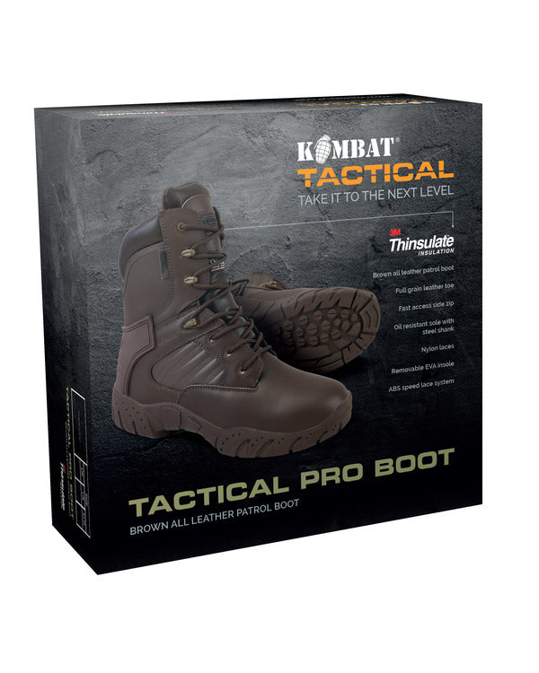 Tactical Pro Boots-MOD Brown