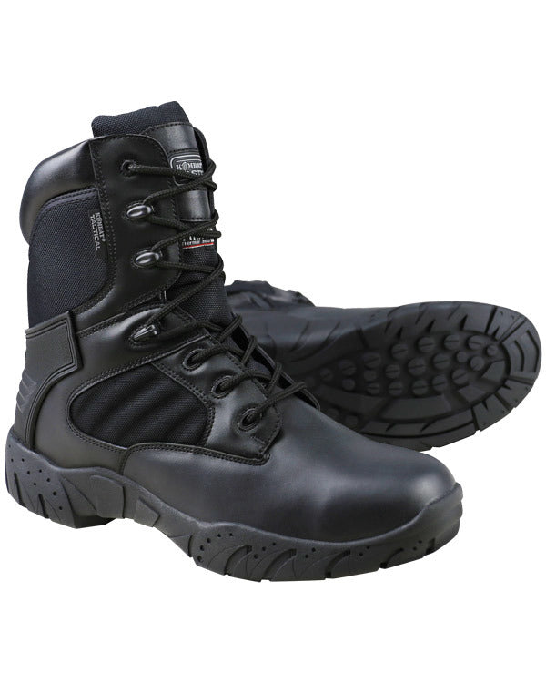 Tactical Pro Boots-50/50-Black  footwear Kombat UK - The Back Alley Army Store