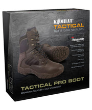 Tactical Pro Boots-50/50-Brown
