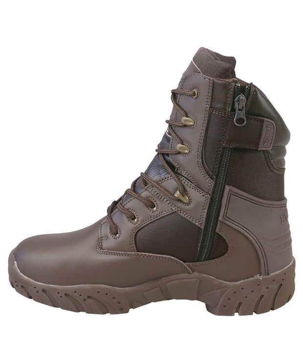 Tactical Pro Boots-50/50-Brown  footwear Kombat UK - The Back Alley Army Store