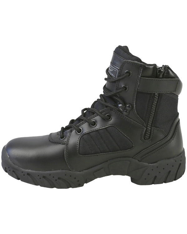 6 inch Tactical pro boot-Black  footwear Kombat UK - The Back Alley Army Store