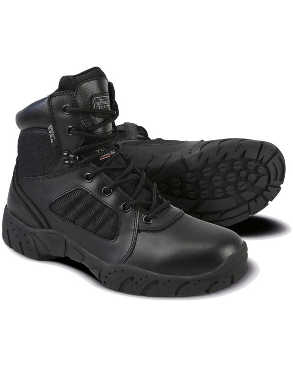 6 inch Tactical pro boot-Black 5 / Black footwear Kombat UK - The Back Alley Army Store