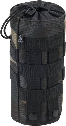 Molle bottle holder-Black camo  Equipment Brandit - The Back Alley Army Store