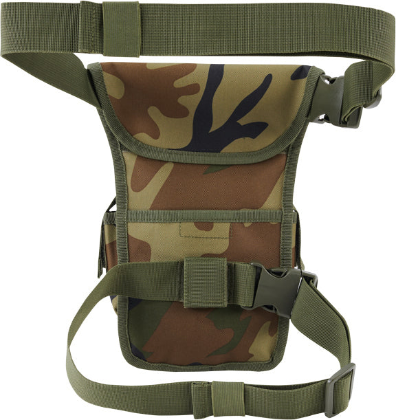 BRANDIT-Leg bag-Woodland