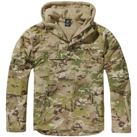 Windbreaker-Tactical camo  Clothing Brandit - The Back Alley Army Store